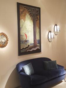 Kunst überm Sofa