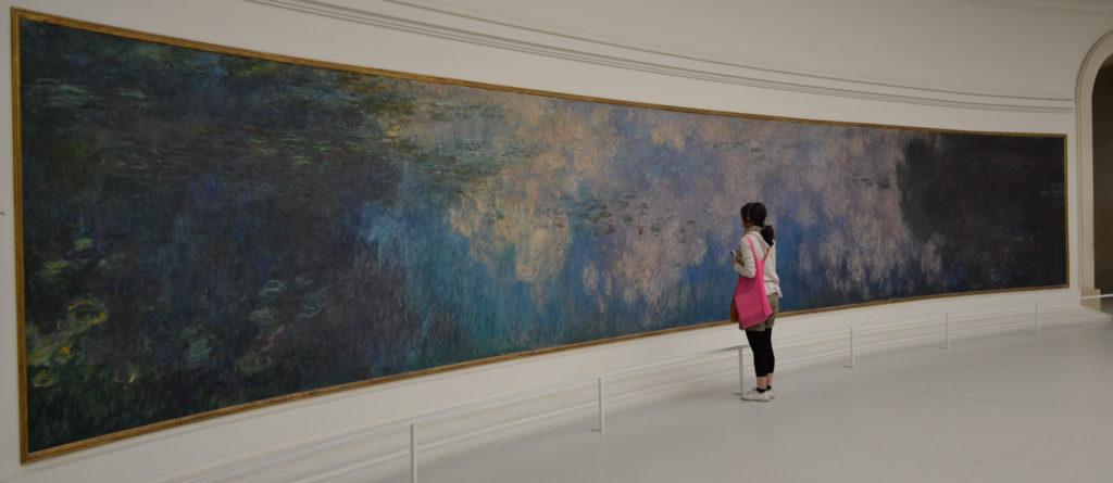Studium von Claude Monets Seerosen