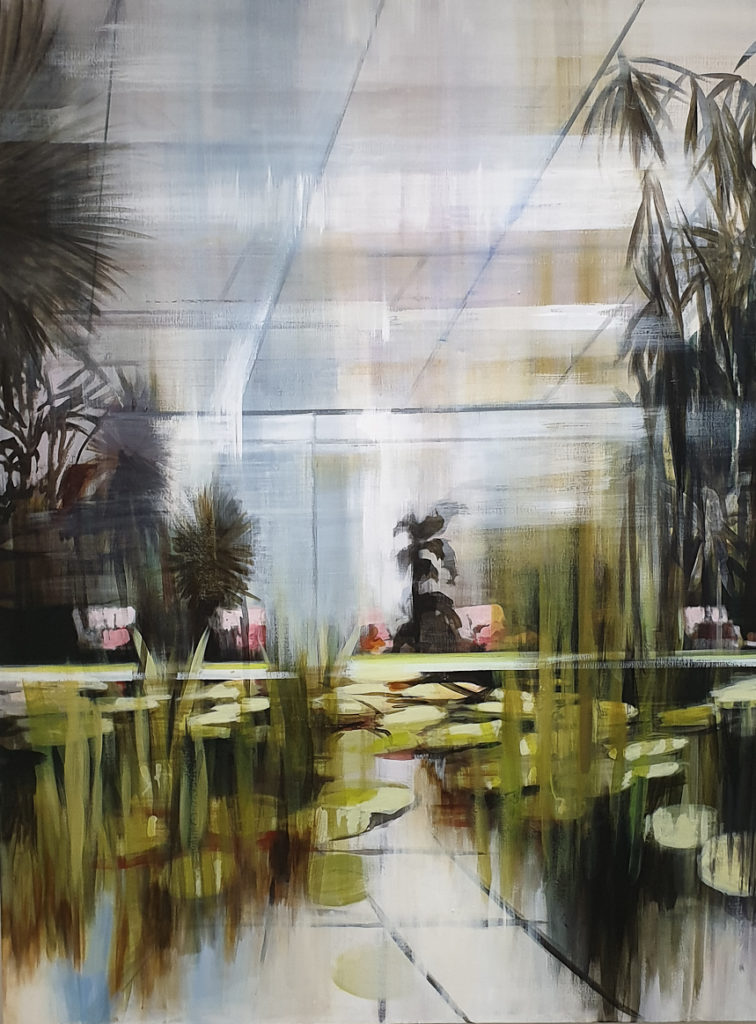 Mahssa Askari, Pink Garden, (c) von fraunberg art gallery