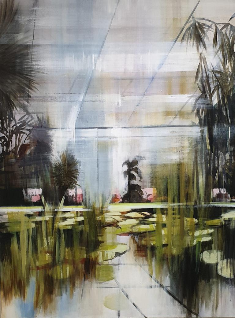 Masha Askari, Pink Garden, (c) von fraunberg art gallery