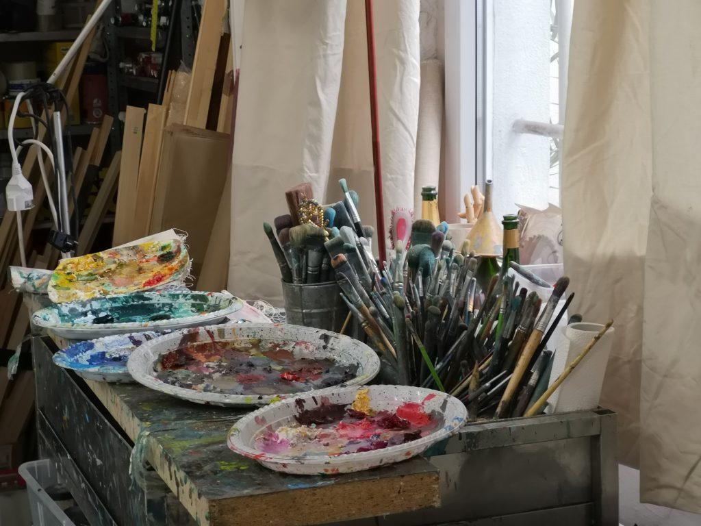 Atelier Dorothea Schüle, FrauenArt am 5. Juni 2019, ArtConsultingMese
