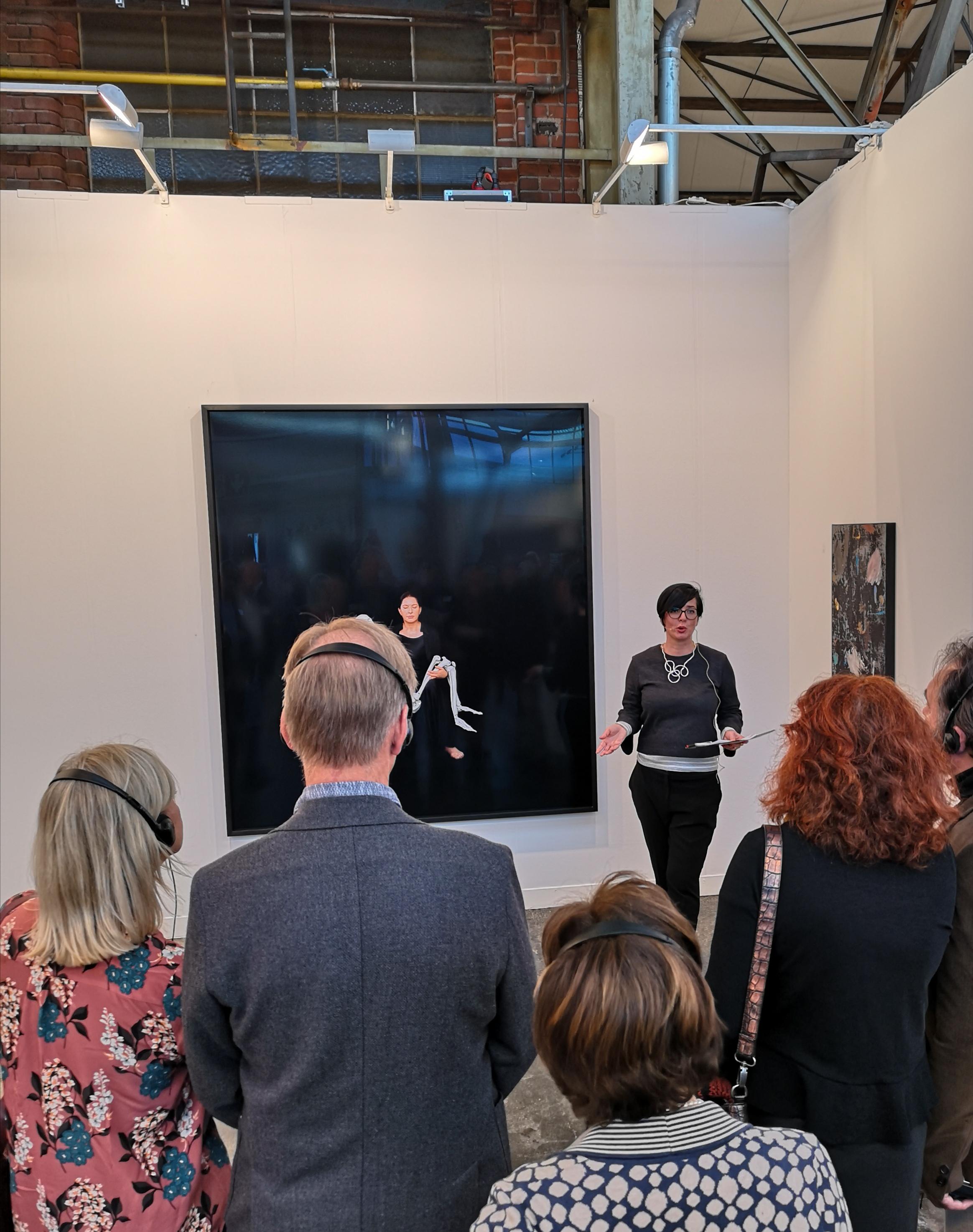 (c) Art Consulting Mese - Agnieszka Mese, Führung auf der Kunstmesse ART DÜSSELDORF