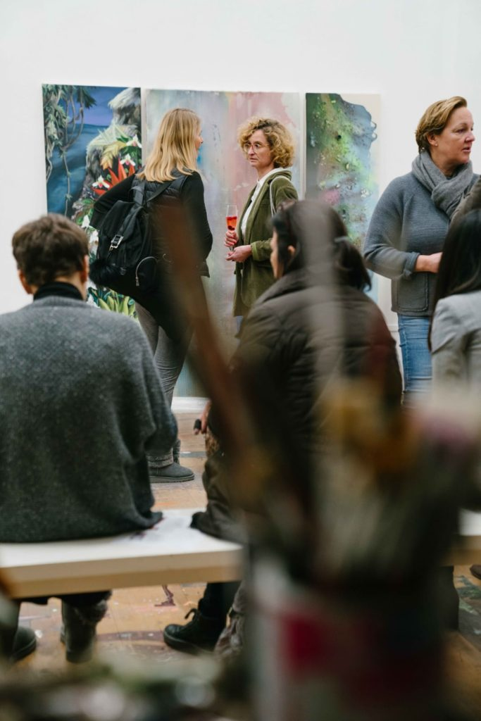 (c)Ania_Holthausen_FrauenArt_Ateliersbesuch_beiSilkeAlbrecht_februar2020_organisiert_vonArtConsultingMese (9)