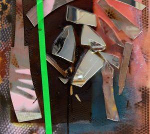 """(c) Silke Albrecht, Detail des Bildes """"Ohne Titel (Salon 3)"""", 2019"""
