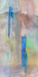 """(c) Silke Albrecht, """"rupture (6)"""", 2019, ein Teil (Mitte) des Triptychons"""