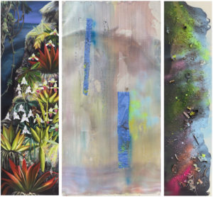 "(c) Silke Albrecht, ""rupture (6)"", 2019, Triptychon"