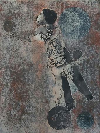 ArtConsultingMese_Weihnachten2020_Nr. 13_Tänzer_40 x 30cm