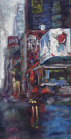 ArtConsultingMese_Weihnachten2020_Nr. 8 Manhattan rain 85x44cm